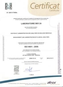 Labobio24 certificat2-219x300