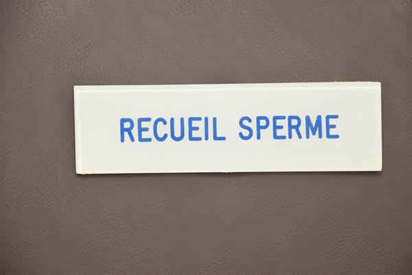 Recueil de sperme dans les urines