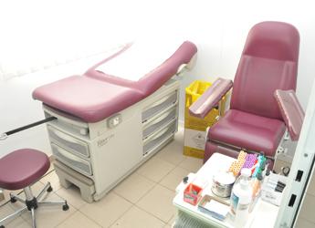 Salle de prélèvement labo Bio 24