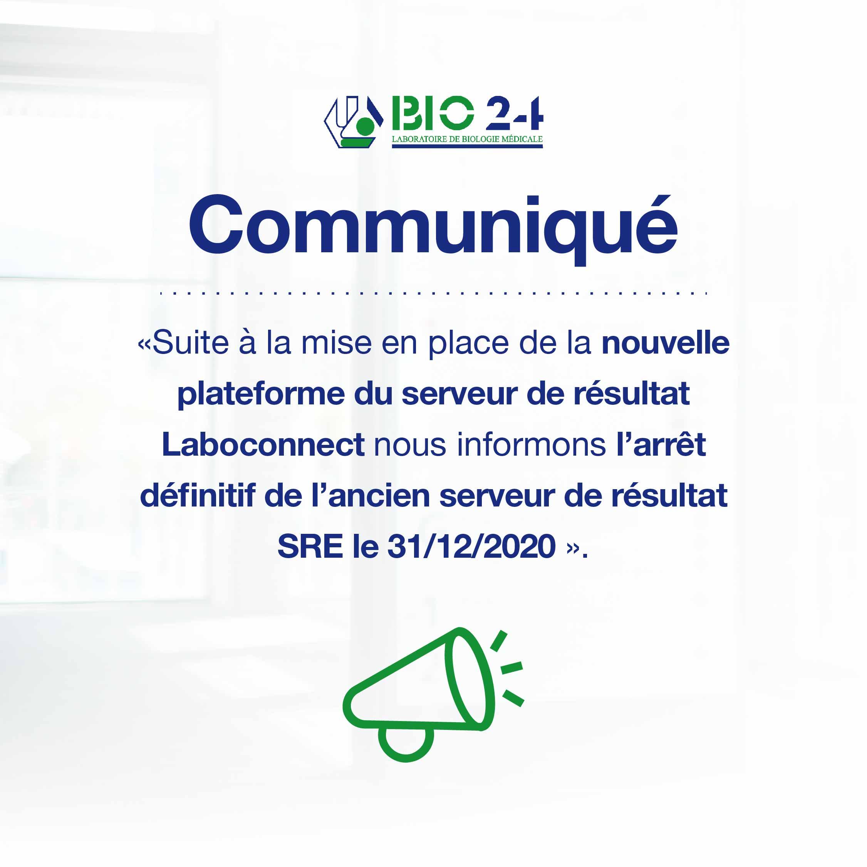 Communiqué BIO24